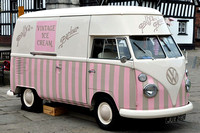 1966 VW ice cream van JUX218D
