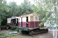 Disused Ruston-Bucyrus