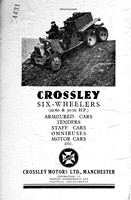 1930 Crossley advertisement