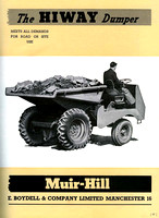 1947 Muir-Hill advertisement