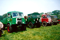 Douglas and AEC timber tractors