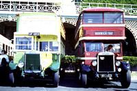 1929 Leyland Titans UF4813 and WH1553