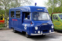 1964 Morris J2 ambulance 502MOB