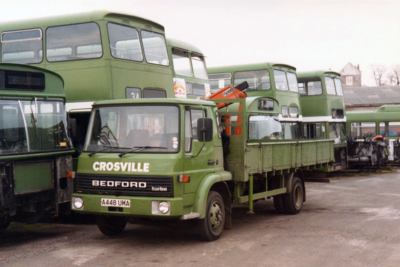 Ccmv Classic Commercial Motor Vehicles Bedford Tl 1984