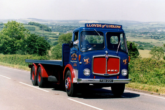 1965 AEC Mammoth Major FAW122C