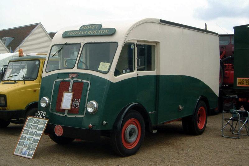 Ccmv Classic Commercial Motor Vehicles Rutland 1952
