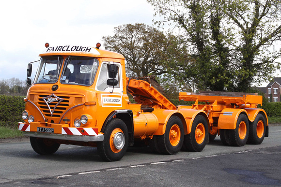 Ccmv Classic Commercial Motor Vehicles Foden S39 1968