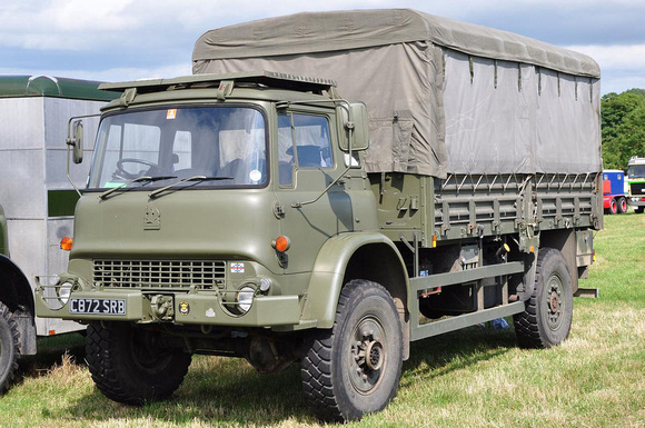 Army Vehicles For Sale >> CCMV Classic Commercial Motor Vehicles | Bedford MK, MF, M1120 & MJ (4x4) | 1986 Bedford MJ C872SRB