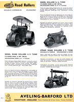 1947 Aveling-Barford advertisement