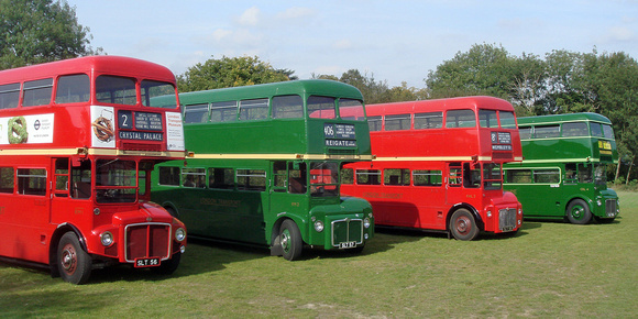 Prototype Routemasters reunited